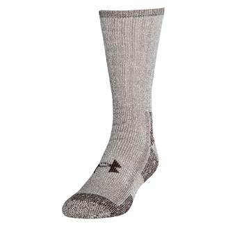 Under Armour Outdoor Boot Socks - 2 Pack Brown Marl