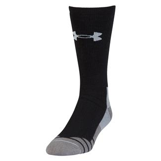 Under Armour Hitch Heavy 3.0 Boot Socks Black / Steel