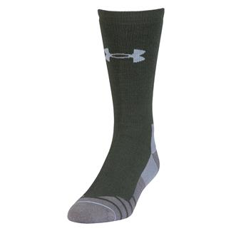 Under Armour Hitch Heavy 3.0 Boot Socks Combat Green / Steel