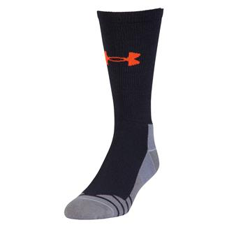 Under Armour Hitch Lite 3.0 Boot Socks Dark Navy / Volcano Orange