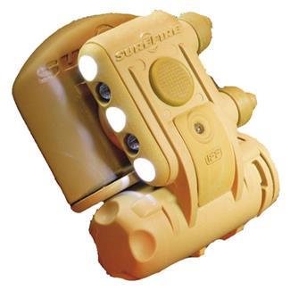 SureFire HL1-D-TN Helmet Light Yellow-Green / IR / Blinking IR Desert Tan