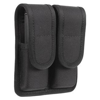Blackhawk Molded Double Mag Pouch Black Matte