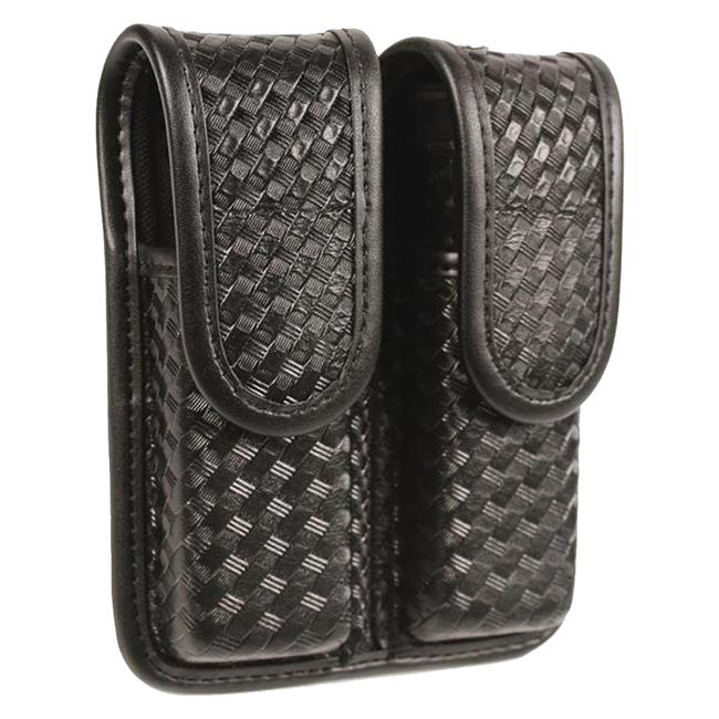 Blackhawk Molded Double Mag Pouch Black Basket Weave