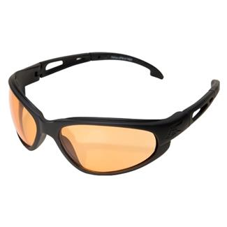 Edge Tactical Eyewear Falcon Matte Black (frame) / Tiger's Eye Vapor Shield (lens)