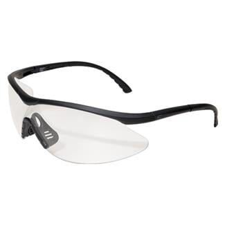 Edge Tactical Eyewear Fastlink Matte Black (frame) / Clear Vapor Shield (lens)