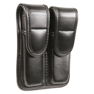 Blackhawk Molded Double Mag Pouch Black Plain