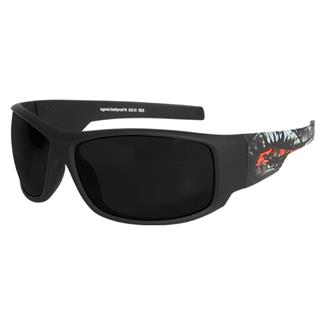 Edge Tactical Eyewear Legends Deathproof (frame) / Smoke Vapor Shield (lens)