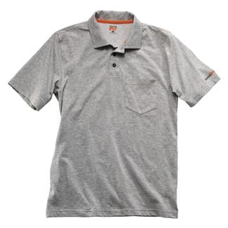 Timberland PRO Base Plate Blended Polo Shirt Light Gray Heather