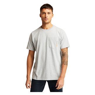 Timberland PRO Base Plate Blended T-Shirt Light Gray Heather