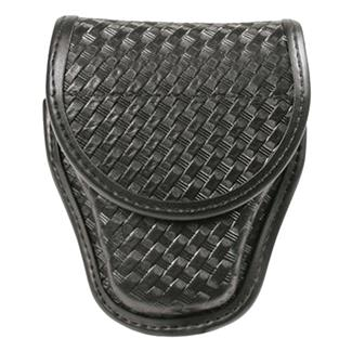 Blackhawk Molded Handcuff Case Basket Weave Black