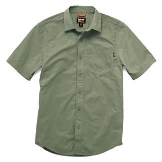 Timberland PRO Work Warrior Ripstop Work Shirt Oil Green
