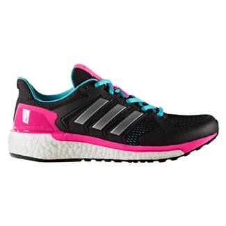 Adidas Supernova ST Core Black / Silver Metallic / Shock Pink