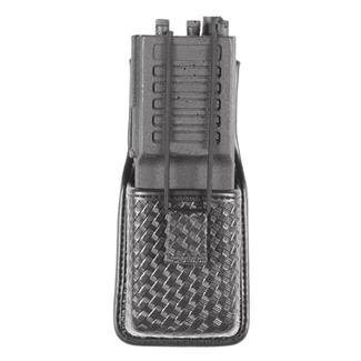 Blackhawk Molded Radio Pouch Basket Weave Black