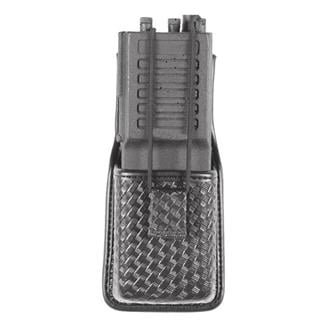 Blackhawk Molded Radio Pouch Black Basket Weave