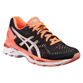 ASICS GEL-Kayano 23 Black / Silver / Flash Coral