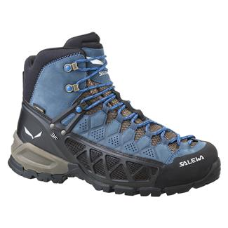 Salewa Alp Flow GTX Black Olive / Royal Blue