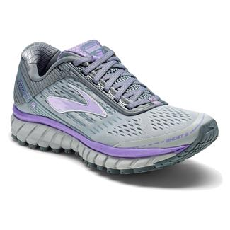 Brooks Ghost 9 Gray / Primer Gray / Lilac