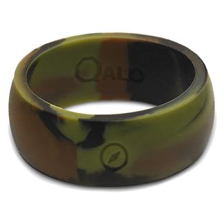 Qalo Silicone Ring with Compass Camo
