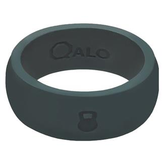 Qalo Silicone Ring with Kettlebell Slate Gray