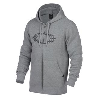 Oakley Ellipse Nest Fleece Hoodie Athletic Heather Gray