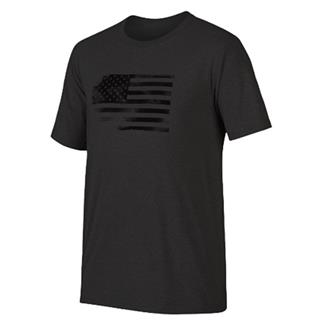 Oakley Glory Flag T-Shirt Blackout Light Heather