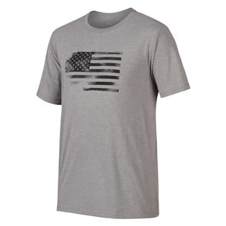Oakley Glory Flag T-Shirt Athletic Heather Gray