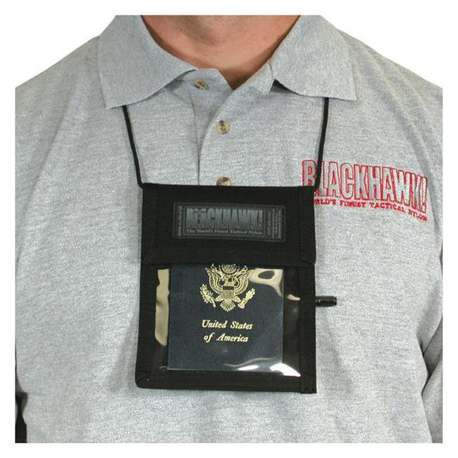 Blackhawk Neck ID / Badge Holder Black