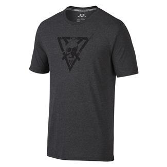 Oakley O-Skull Cross T-Shirt Blackout Lt Htr