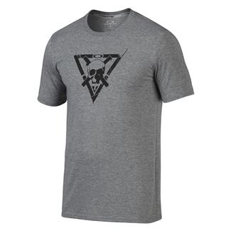 Oakley O-Skull Cross T-Shirt Athletic Heather Gray
