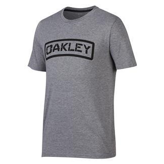 Oakley O-Tab T-Shirt Athletic Heather Gray