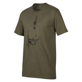 Oakley Piked Skull T-Shirt Dark Brush