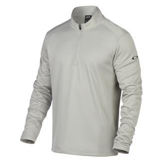 Oakley Range 1/4 Zip Pullover Stone Gray