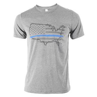 TG Thin Blue Line T-Shirt Gray