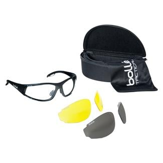 Bolle Rogue Matte Black (frame) - Clear / Yellow / Smoke (lens)
