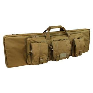 "Condor 42"" Double Rifle Case Coyote Brown"