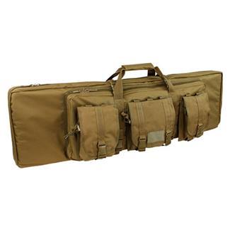 "Condor 42"" Double Rifle Case Coyote Brown"