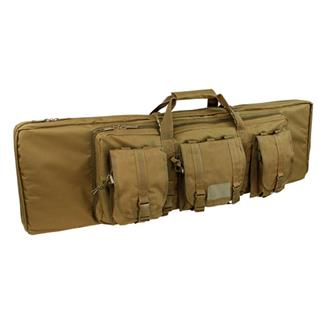 "Condor 46"" Double Rifle Case Coyote Brown"
