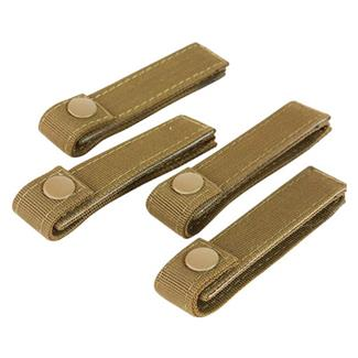 "Condor 4"" MOD Straps (4 Pack) Coyote Brown"