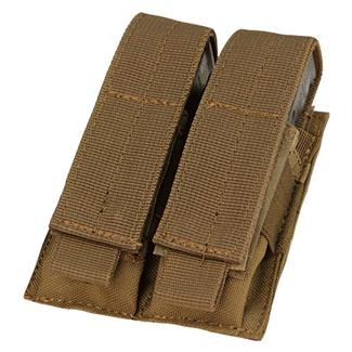 Condor Double Pistol Mag Pouch Coyote Brown