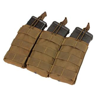 Condor Triple M4/M16 Open-Top Mag Pouch Coyote Brown