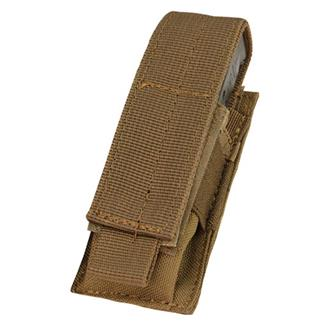 Condor Single Pistol Mag Pouch Coyote Brown