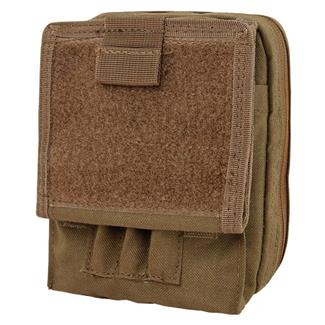 Condor Map Pouch Coyote Brown