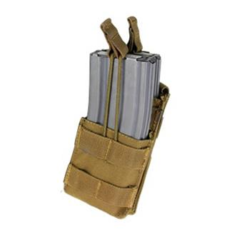 Condor Single Stacker M4 Mag Pouch Coyote Brown