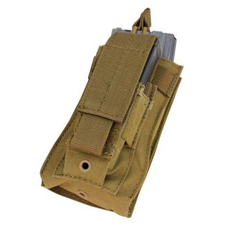 Condor Single Kangaroo Mag Pouch Coyote Brown