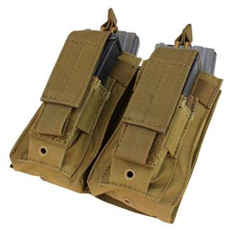 Condor Double Kangaroo Mag Pouch Coyote Brown