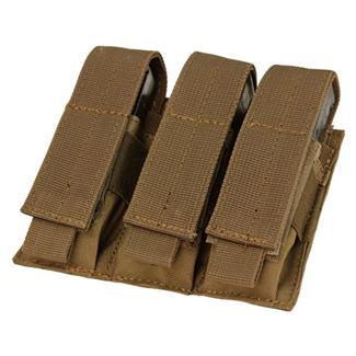 Condor Triple Pistol Mag Pouch Coyote Brown