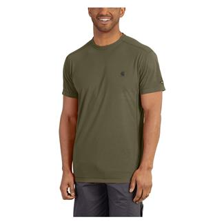 Carhartt Force Extremes T-Shirt Burnt Olive