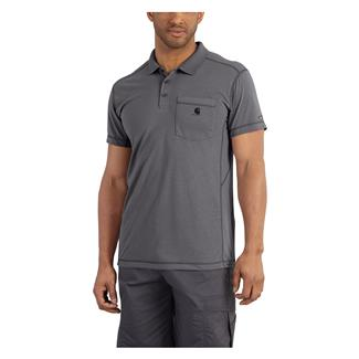 Carhartt Force Extremes Pocket Polo Charcoal