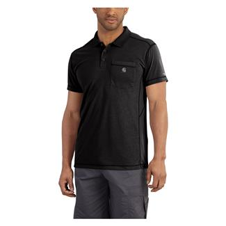 Carhartt Force Extremes Pocket Polo Black