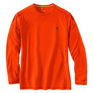Carhartt Force Extremes Long Sleeve T-Shirt Energetic Orange